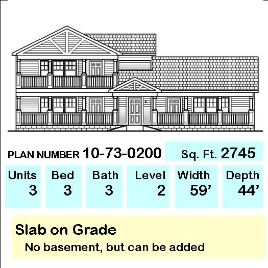 Apartment Design Floor Plans Duplex Multi Family Low Income Housing